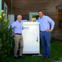 NRI CEO Jay Bellows and Congressman Peter Welch