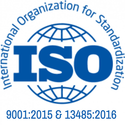 Interstate Specialty Products ISO 9001:2015 & ISO 13485:2016 certified die cutter