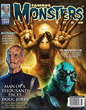Famous Monsters Issue 289 Newsstand Cover Featuring Doug Jones many faces.