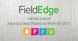 FieldEdge Named Best Place To Work in Atlanta