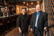 L-R: Executive Chef Michael Williams, General Manager Jimmy Branigan
