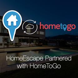 HomeEscape Hometogo Partnership