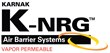 KARNAK Expands Offerings with K-NRG Seal VP™ Liquid-Applied, NFPA-285 Fire-Rated Vapor-Permeable Air Barrier