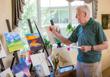 Eskaton Village Grass Valley residents and artists