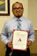Mt. Sierra College scholarship recipient James Castillo.