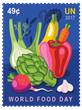 United Nations Pre-Launch Preview of World Food Day Stamps at 1:30, October 5.