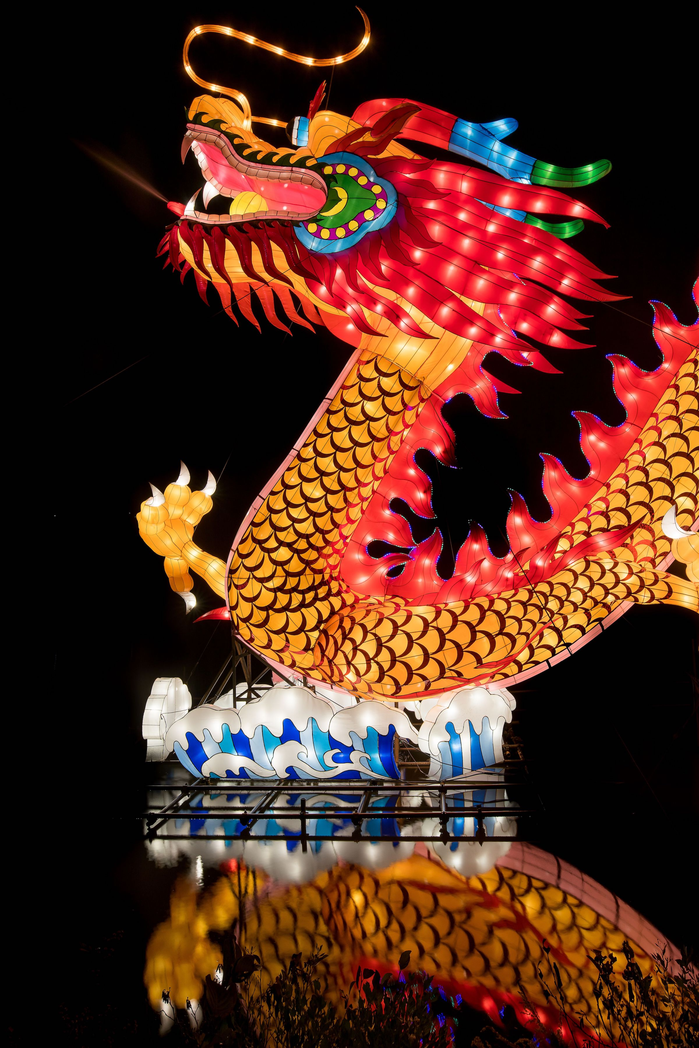 North Carolina Chinese Lantern Festival Returns To Cary ...