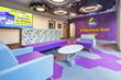 Martineau Electric completes Planet Fitness power and light distribution, high performance lighting and controls, LED signage, and a custom cafeteria and kitchen