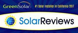 Green Solar Technologies Ranked #1 Solar Installer in CA