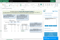 Cloud-based Solver for Excel Online and Excel 2016
