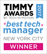 2017 Timmy Awards Best Tech Manager in New York City