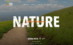 Open Space Authority Website by Intechnic