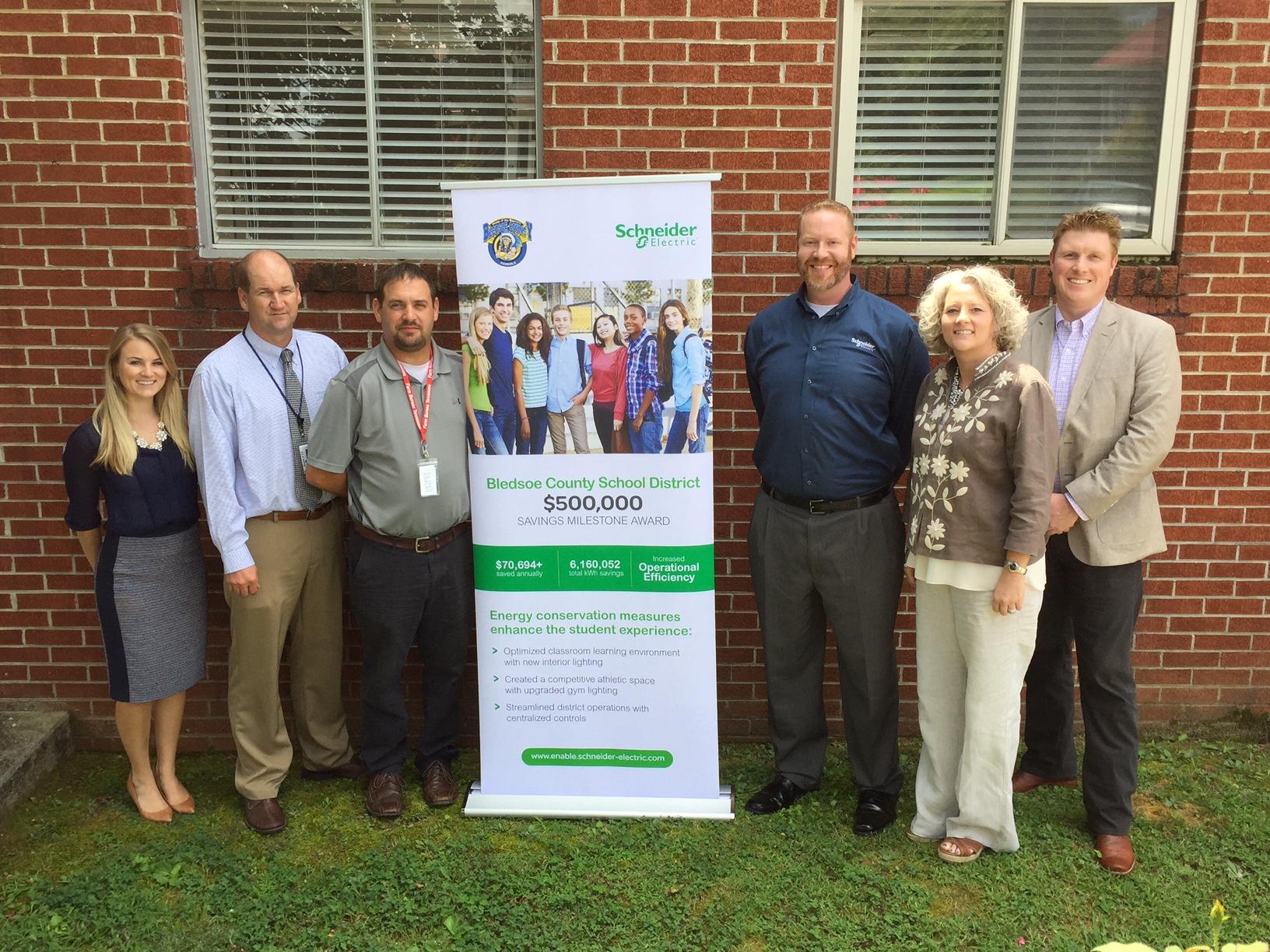 Bledsoe County Schools Reaches $500,000 Energy Savings