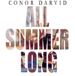 "Conor Darvid - ""All Summer Long"" - singles artwork"