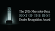 Mercedes-Benz of Baton Rouge Wins the 2016 Best of the Best Dealer Recognition Award