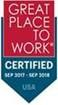 Foundation Finance Company certified as a great workplace