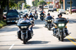 Motorcyclists participated in the Patriot Ride in Raleigh, N.C., a charity event at Ray Price Capital City Bikefest.