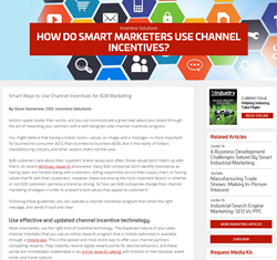 channel incentives industry today