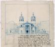 Hearst Castle sketh by Julia Morgan