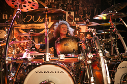Event headliner and Yamaha Drums Artist Tommy Aldridge (Photo credit: Twinfolk Creative)