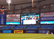 Starting Right, Now On Screen at the Tampa Bay Rays Game