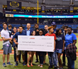 "Chris Archer's ""Strikeout Challenge"" Results In A $20,350 Check Presented To Non-Profit's Mission To End Teen Homelessness"