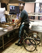 Stand-Up Wheelchair Lets Chef with Disabilities Continue His Career