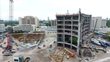 Mount Sinai Medical Center, Robins & Morton Celebrate Surgical Tower Topping Out