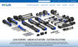 Helix Linear Technologies Debuts New Website and Linear Actuator Product Lines