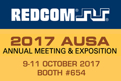 REDCOM AT AUSA 2017