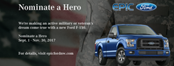 Epic Ford Nominate a Hero