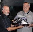 Greg handing off LIBOR Award