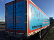 CareOne trucks brought donations from Massachusetts and Gillette Stadium