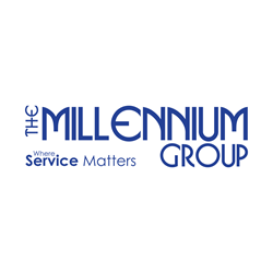 The Millennium Group, Where Service Matters Logo