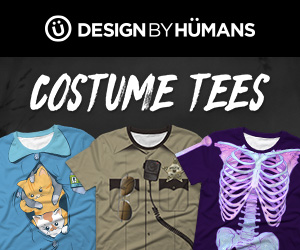 163369ed12eb The Design By Humans' New Costume Tee Collection Will Put a Spell on You