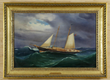 Tomaso de Simone, Schooner Neptune, Oil on Canvas
