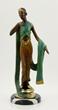 Juliet Erte, Lady w/ Tiara, Bronze
