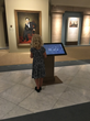 A Young Visitor Explores America's Presidents Interactive