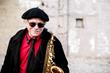 Alto saxophonist Richie Cole. (Photo: Aaron Jackendoff)