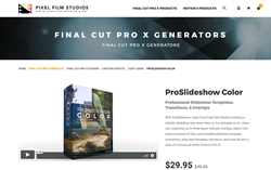 FCPX Effects - ProSlideshow Color - PFS Plugins