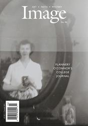 Flannery O'Connor self-portrait photo taken through her dresser mirror.
