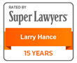 Larry Hance Named to the 2017 Texas Super Lawyers List