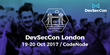 DevSecCon Conference Returns to London for Third Year