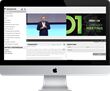 Reuse powerful performances by syncing slides with video and interactive video players.