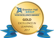 2017 Brandon Hall Group Gold Excellence in Learning