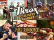 GoBRT Announces Throx Market's First Annual Fall Jamboree in Winchester, Virginia celebrating Virginia Craft Beers, Music and Food Offering a Twist Just for Men
