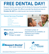 Newport Dental Hosts a No Cost Dental Day on October 22nd