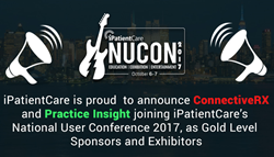 ConnectiveRX and Practice Insight are joining iPatientCare National User Conference 2017