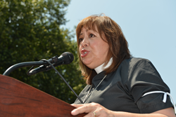 Bishop Minerva Carcaño, Chair of the Council of Bishops Immigration Task Force