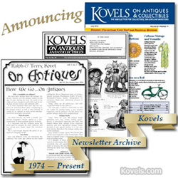 kovels, antiques, collectibles, prices, newsletter archives